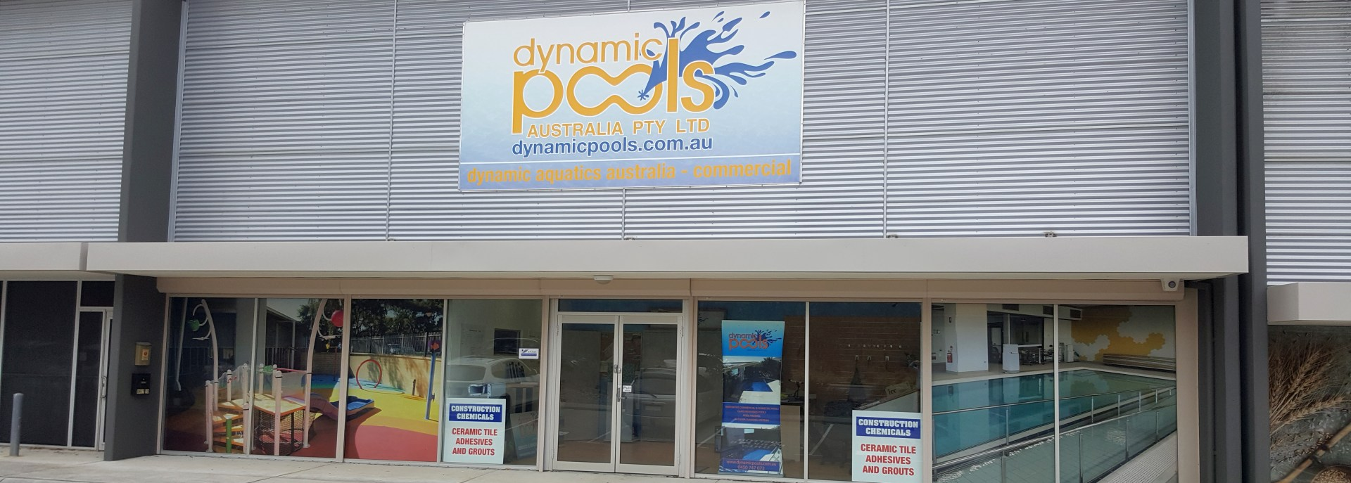 Dynamic Pools Perth Store Front
