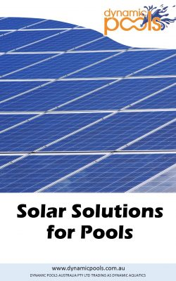 Solar Solutions for Pools Cover Page